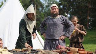 Pokaz walk �redniowiecznych w wykonaniu Grupy Rekonstrukcji Historycznej 'Hasdingowie'