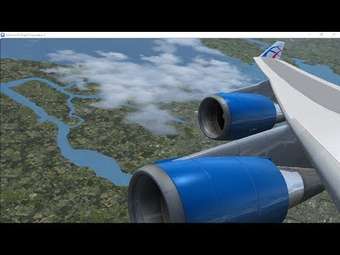 Boeing 747-400 | Bucharest - Heathrow | Cargo  | CLU96Q