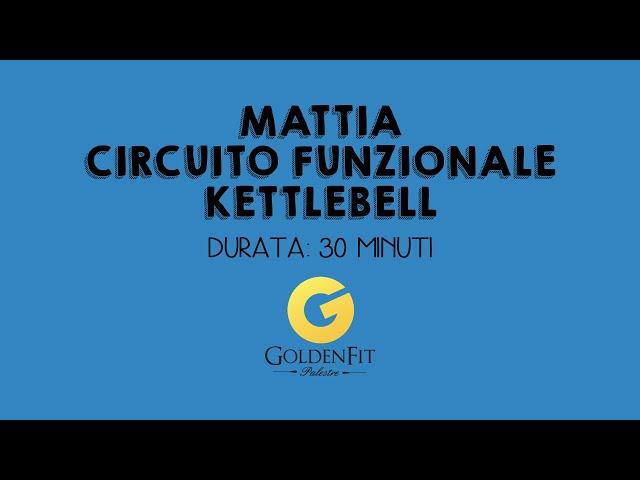 Circuito Fuzionale KB con Mattia