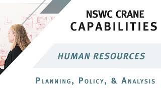Nswc crane capabilities - hr: planning, policy, & analysis
