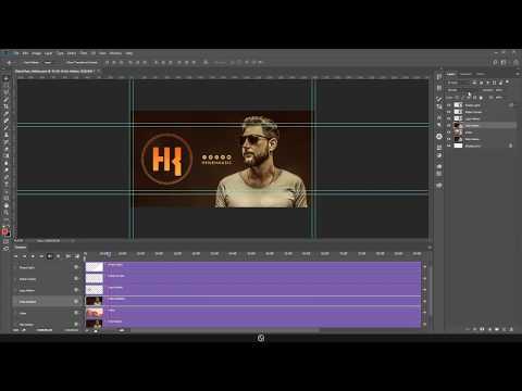 Como Criar  Vídeo No Photoshop (Timeline Photoshop)