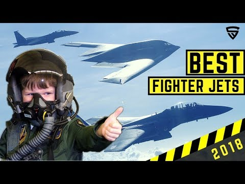 Best Fighter Jets in the World 2018 - Within Visual Range Combat