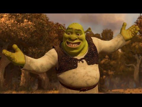 The Shrek Tetralogy in 4 minutes