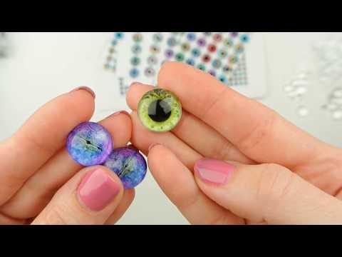Сделать глазки для игрушки своими руками