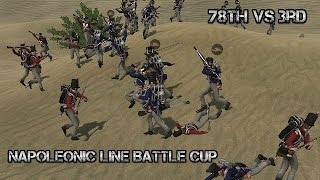 Napoleonic Line Battle Cup (NLC) 78th Vs. 3rd 27.08.15