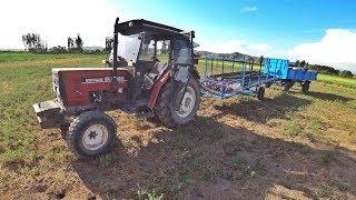 Tarım Vlog #30    Damlamalara Suyu Veriyoruz, Sulama hattı hazırlama