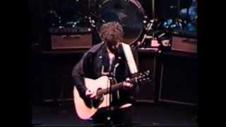 BOB DYLAN HAMMERSMITH APOLLO LONDON  FEBRUARY 7, 1993