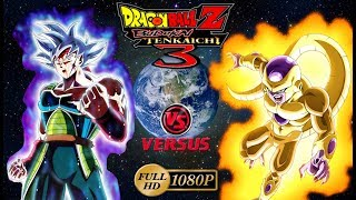 Dragon Ball Z Budokai Tenkaichi 3 | Bardock Migatte Perfecto VS Golden Freezer