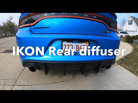 ikon-rear-diffuser-review-after-1-year-on-my-charger-scatpack