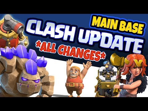 CLASH OF CLANS UPDATE IS COMING - Main Base Update? - Sneak Peek #1