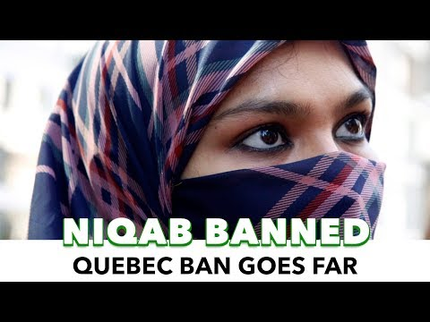 Quebec Bans Face Covering In Public Services