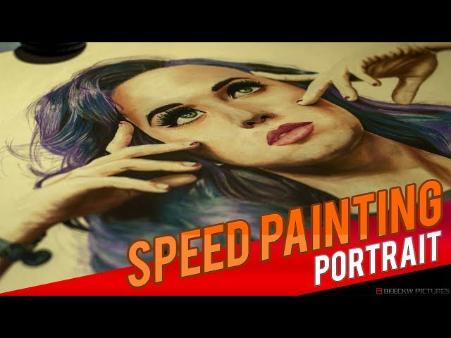Drawing Katy Perry [Speed painting]