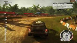 Colin McRae: DiRT 2 - Malaysia Rally Gameplay (PC)