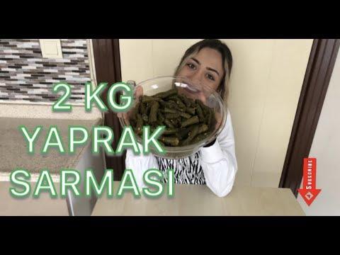 2 KG YAPRAK SARMASI CHALLENGE!-Tek Cümleyle Yaprak Sarmasını Açıklayınız