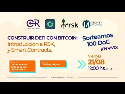 Construir DeFi Con Bitcoin: Introducción A RSK Y Smart Contracts