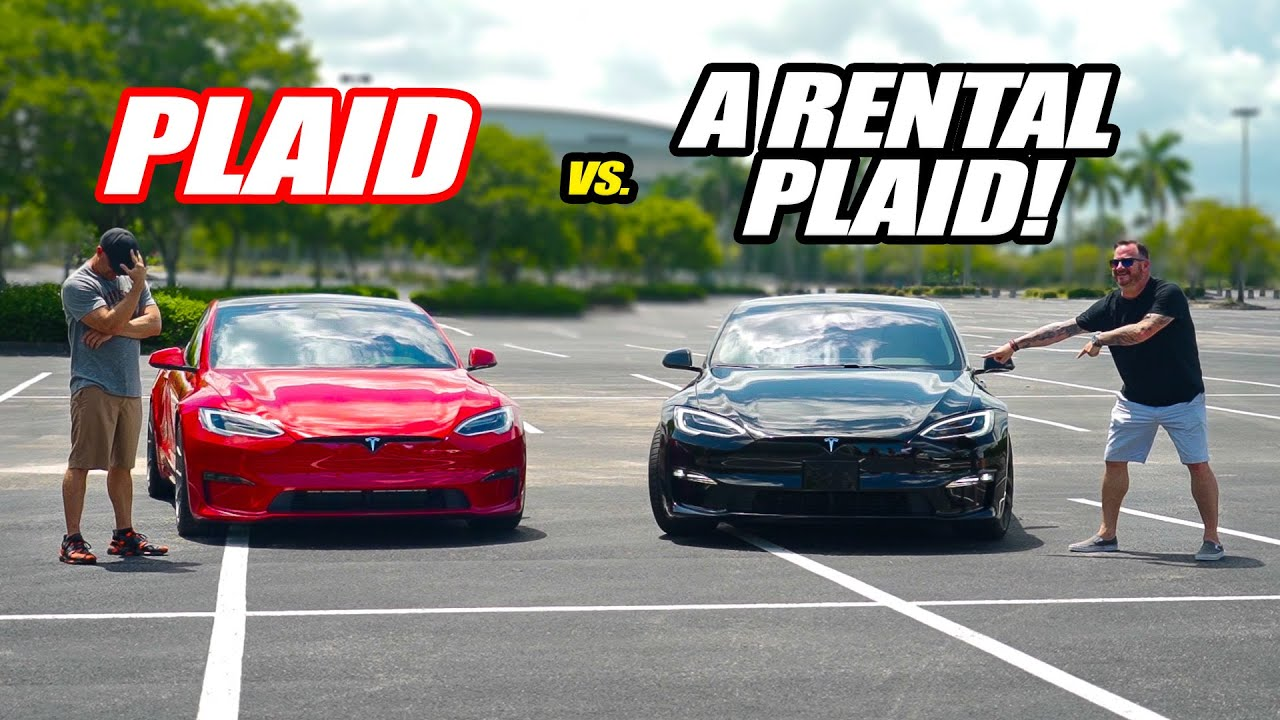 RENTING a 1020HP Tesla Model S Plaid To Race Our Friend's! *$3800 1 DAY RENTAL*