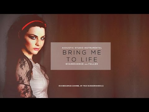 Evanescence: Bring Me To Life Acoustic Studio Instrumental