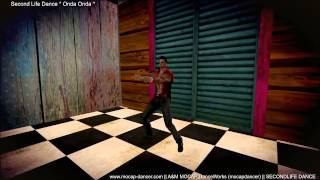 SecondLife - Onda Onda Dance (for the song Onda Onda Tesouro do Pirata)