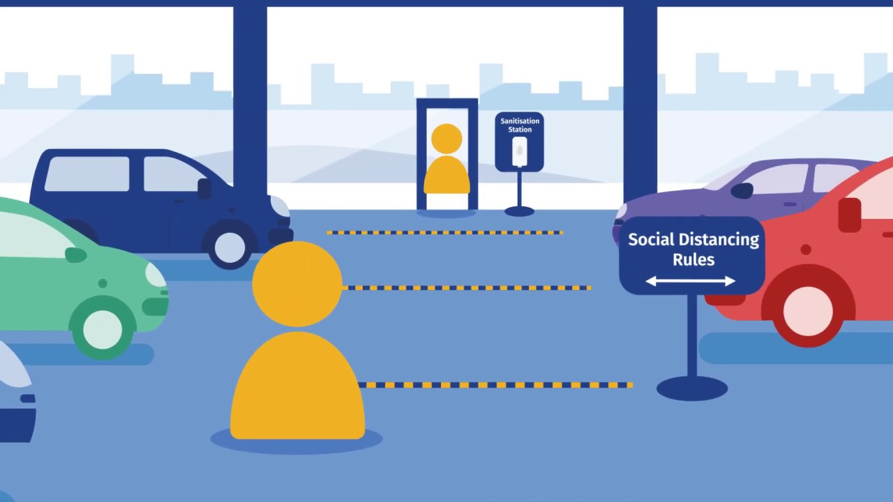 Social distancing and car dealership visits - The Motability Scheme