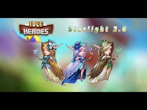 ♕Idle Heroes♕Starlight 2.0!!! Обзор! Новый бог ПВЕ!!!