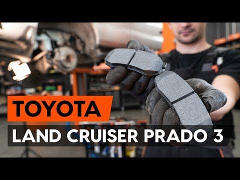 Как заменить задние тормозные колодки на TOYOTA LAND CRUISER PRADO 3 (J120) [ВИДЕОУРОК AUTODOC]