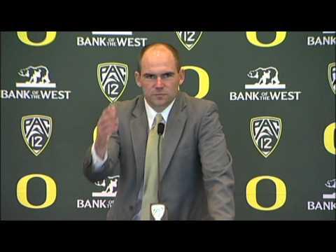 Mark Helfrich Named Oregon Head Coach