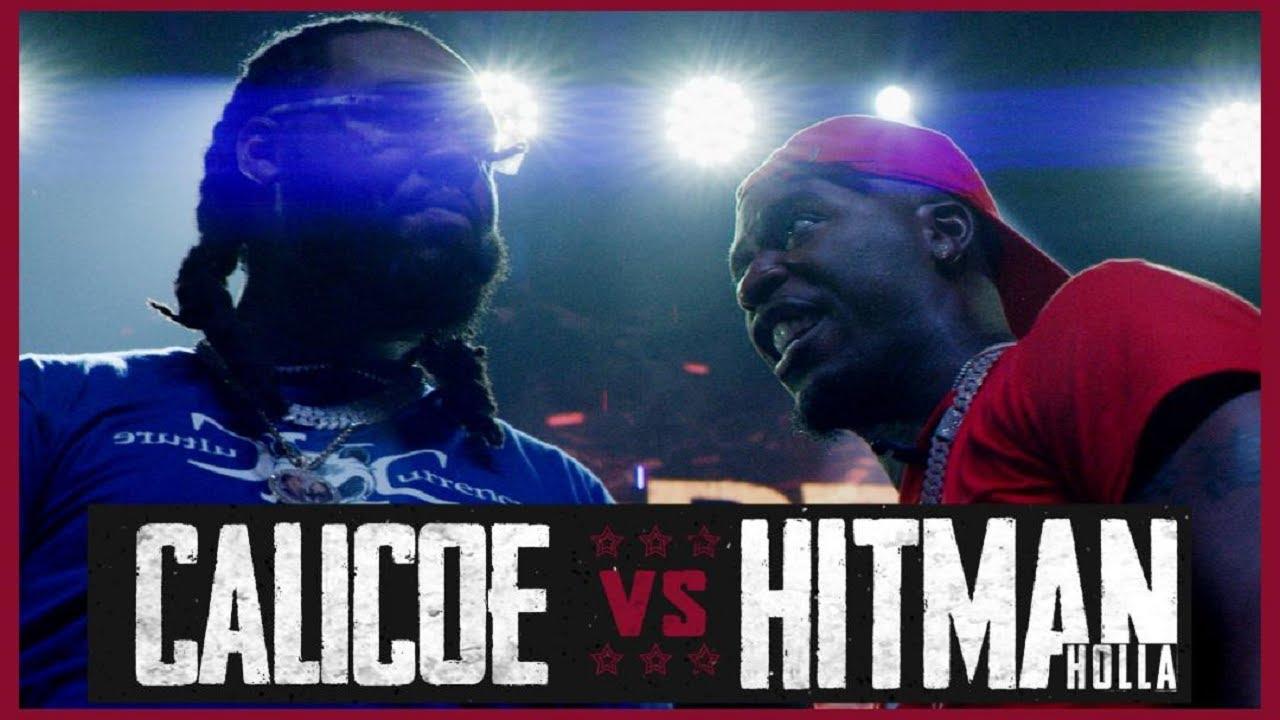 Download HITMAN HOLLA VS CALICOE RAP BATTLE - RBE