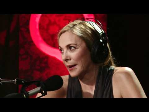 Sex and the City's Kim Cattrall in Studio Q