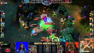 TSM (Dyrus Singed) Vs Vulcun Epic 1 Hour Game - Fan Made Quick HL - LCS NA W4 2013