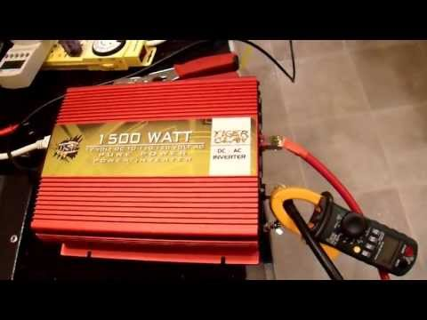 OSP Tiger Claw 1500W Pure Sine Inverter Unboxing and Review
