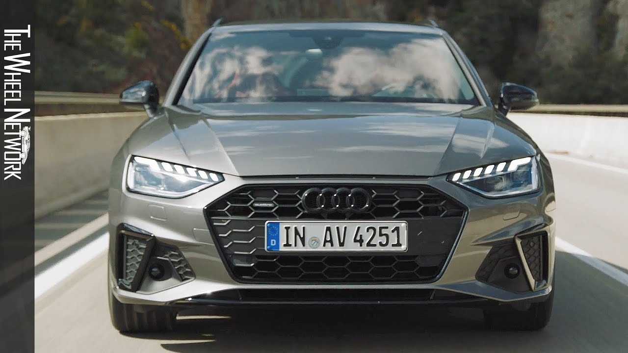 2020 Audi A4 Avant S Line Edition One Driving Interior Exterior