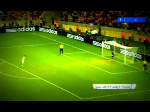 SPAIN VS ITALY (0-0) 7-6 PENALTY KICK | FIFA CONFEDERATIONS CUP 2013