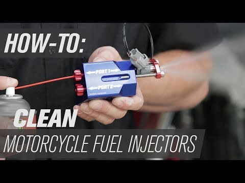 How To Clean Motorcycle Fuel Injectors