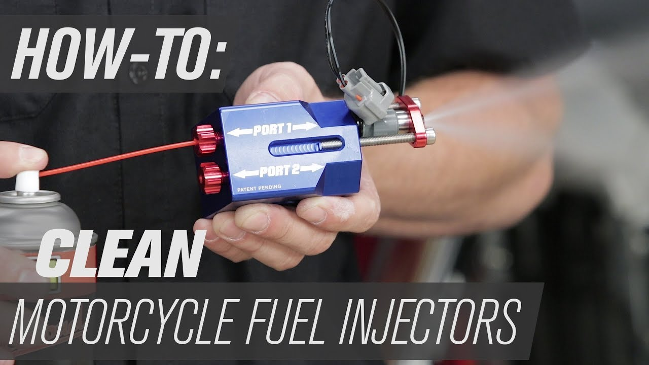 How To Clean Motorcycle Fuel Injectors Youtube Rhino 700 Filter