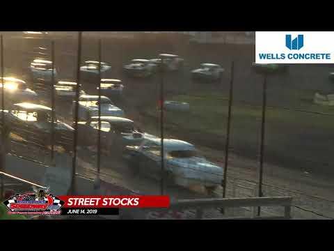 6/14/19 Wissota Street Stocks - River Cities Speedway