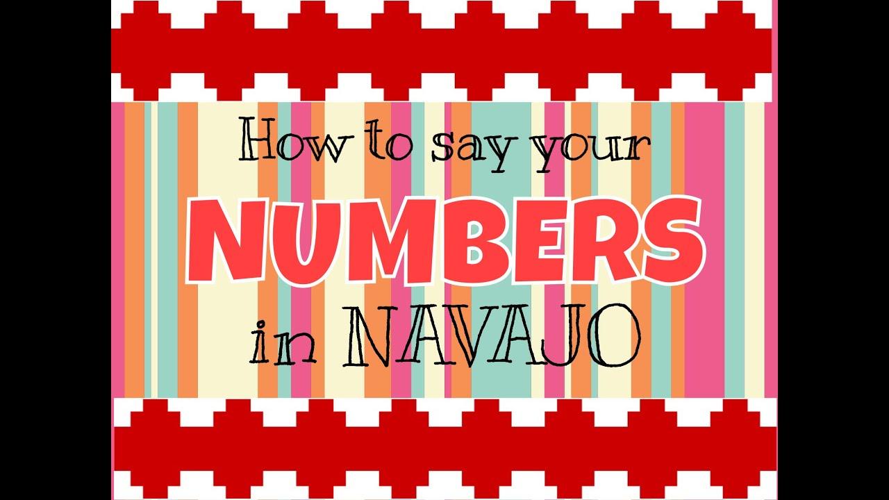 Numbers In Navajo