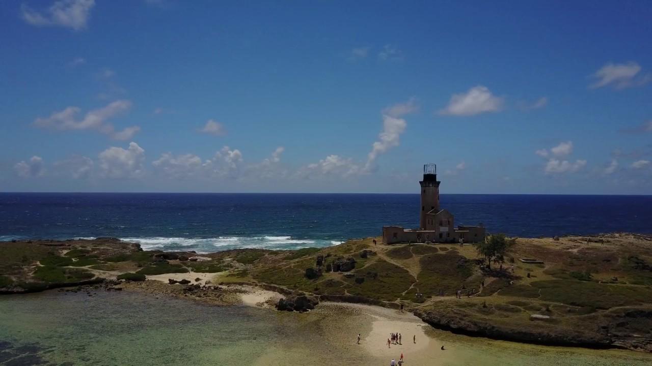 Iles Phare (Lighthouse Island) Mauritius drone video DJI Mavic Pro