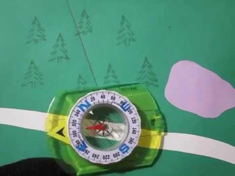 Азимут. Как пользоваться компасом.