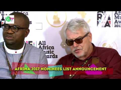 AFRIMA Unveils 2017 Nominees:Tiwa Savage, Wizkid, Runtown battle for honour