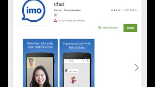 Imo Free Video Calls and Chat - App review video screenshot 5