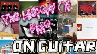 The History Of Emo Played On Guitar (1982 - 2005)