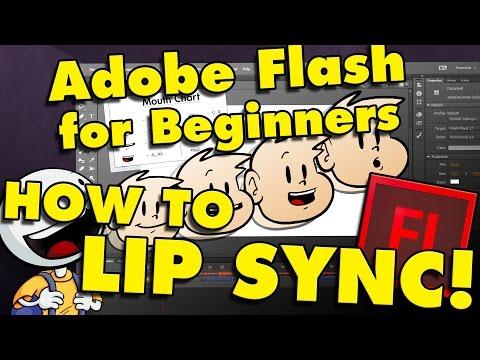 Adobe Flash/Adobe Animate How To Add Sound & Make a Talking Cartoon (Part 4)