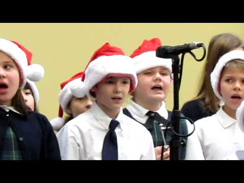 Sunny 102 Christmas Music & Most Holy Rosary School 2012  Part 2