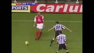 Thierry Henry vs Newcastle A PL 2004/05