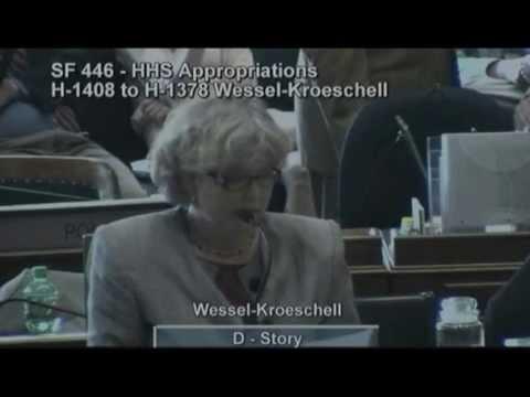 Iowa House abortion debate-HHS budget-5-1-13