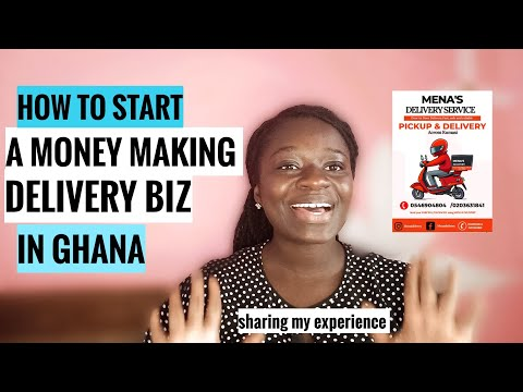 How To Start A Profitable Delivery Business In Ghana