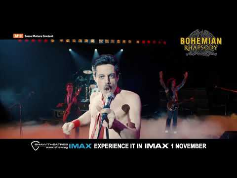 Bohemian Rhapsody IMAX 30s TV Spot