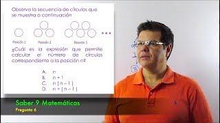 Prueba ICFES Saber 9 - Matemáticas. Pregunta 6