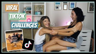 Δοκιμάζουμε τα πιο VIRAL TikTok Challenges || fraoules22