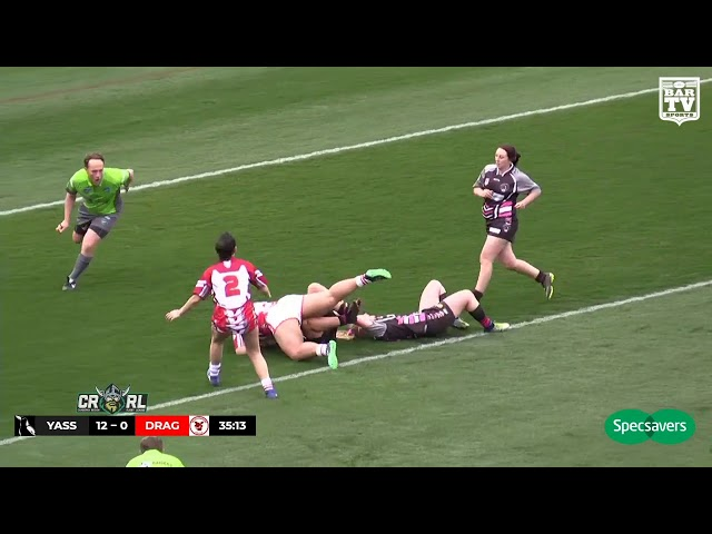 2019 Canberra RL - Katrina Fanning Cup Grand Final Highlights - Yass Magpies v Valley Dragons